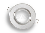 Oprawa LED line® okrągła ruchoma srebrna piaskowana