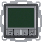 B3/B7 Regulator temp. elektroniczny antracyt