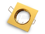 Oprawa LED line® kwadratowa ruchoma złota odlew