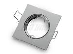 Oprawa LED line® kwadratowa ruchoma odlew chrom