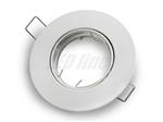 Oprawa LED line® okrągła ruchoma biała matowa odlew