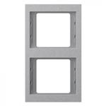 Ramka podwójna (pionowa) aluminium