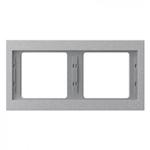 Ramka podwójna (pozioma) aluminium