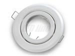 Oprawa LED line® okrągła ruchoma biała blaszana