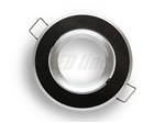 Oprawa LED line® okrągła ruchoma czarna szczotkowan