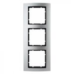 B3 Ramka potrójna aluminium / antracyt