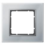 B7 Ramka pojedyńcza szklana aluminium