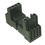 Podstawka na szynę DIN-35mm SY4S-05E1G1 dla przekaźników RU2 i RU4 i modułów  IDEC