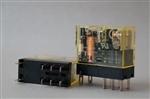 Przekaźniki dwubiegunowe RJ2S-CL-A24 2 styki przełączne, 8A, z diodą LED  IDEC
