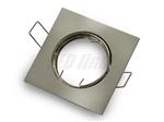 Oprawa LED line® kwadratowa ruchoma odlew satyna