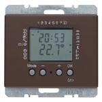Regulator temperatury elektroniczny brąz