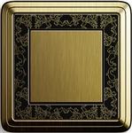 Ramka 1 krotna brąz/czarny GIRA CLASSIX ART