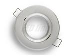 Oprawa LED line® okrągła ruchoma  srebrna szczotkow