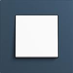 Ramka 1-krotna Gira Esprit linoleum-sklejka niebies